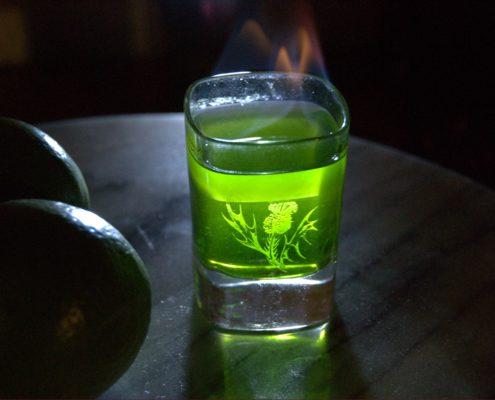 Liqueur d'absinthe diy