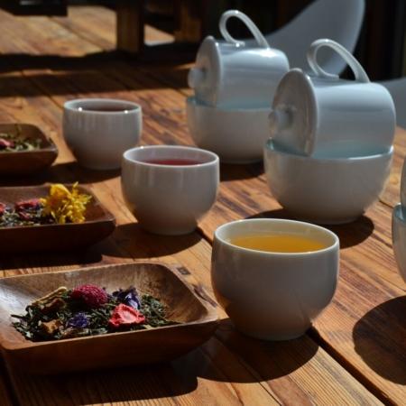 Compositions sur base de thés Bio