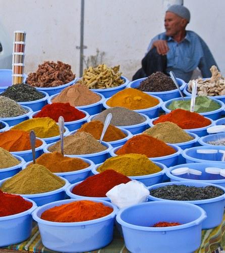 marché aux épices maghreb